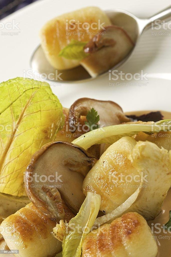 Potato Gnocchi royalty-free stock photo