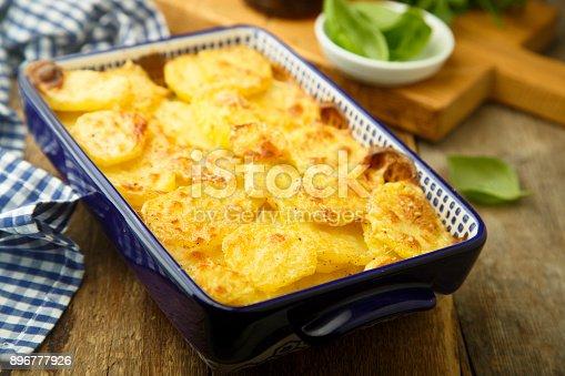istock Potato gratin 896777926