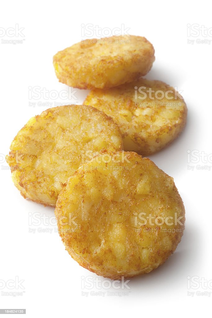 Potato: Hash Browns stock photo