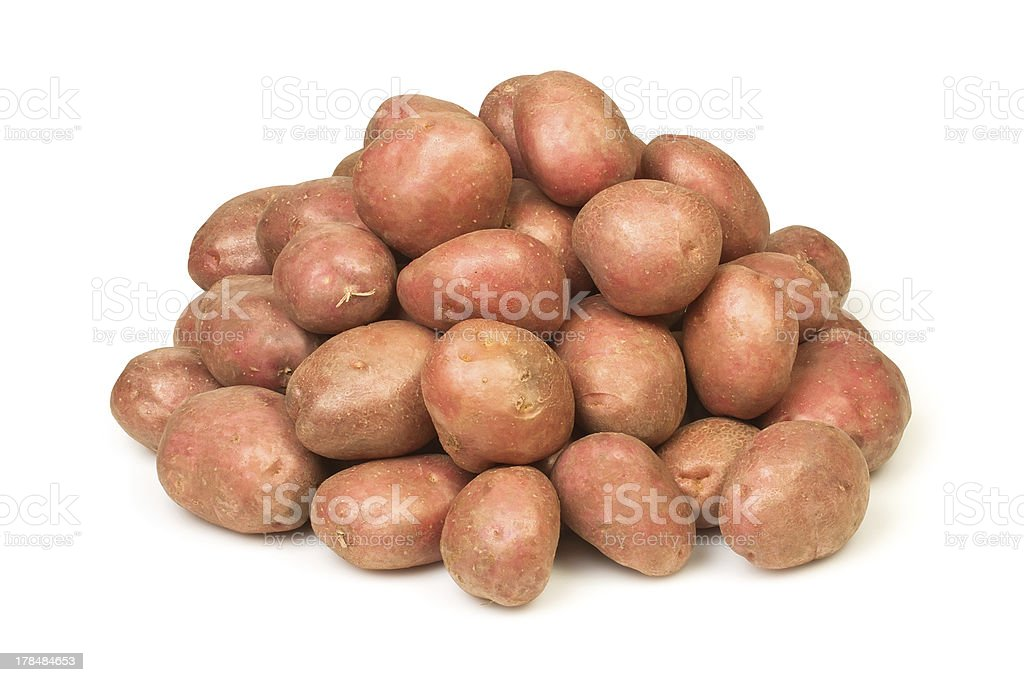 potato heap stock photo