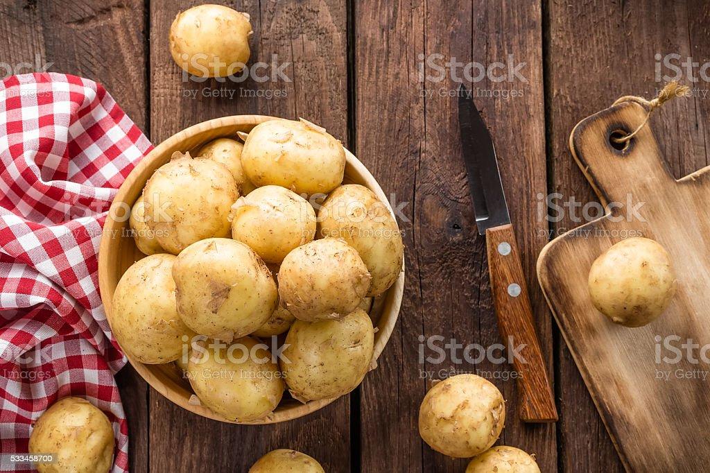 Kartoffel - Lizenzfrei Abnehmen Stock-Foto