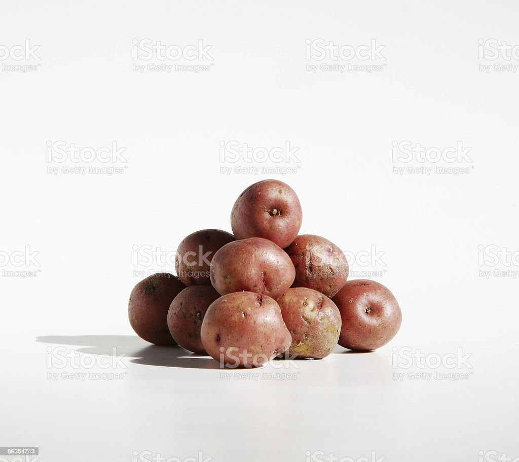 Potato Pile royalty-free stock photo