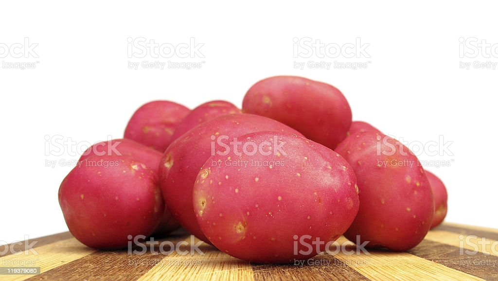 Potato red young royalty-free stock photo