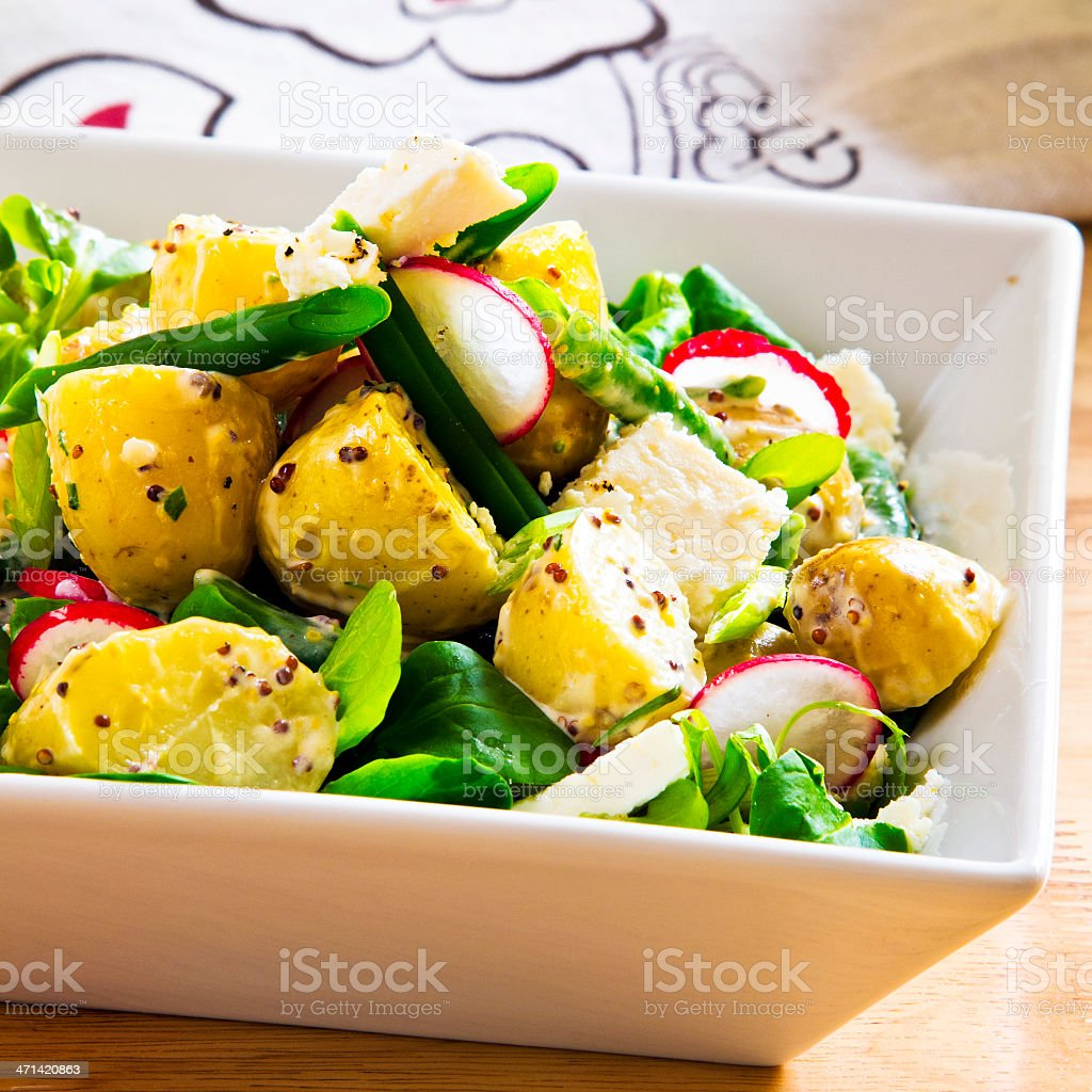 Potato Salad royalty-free stock photo