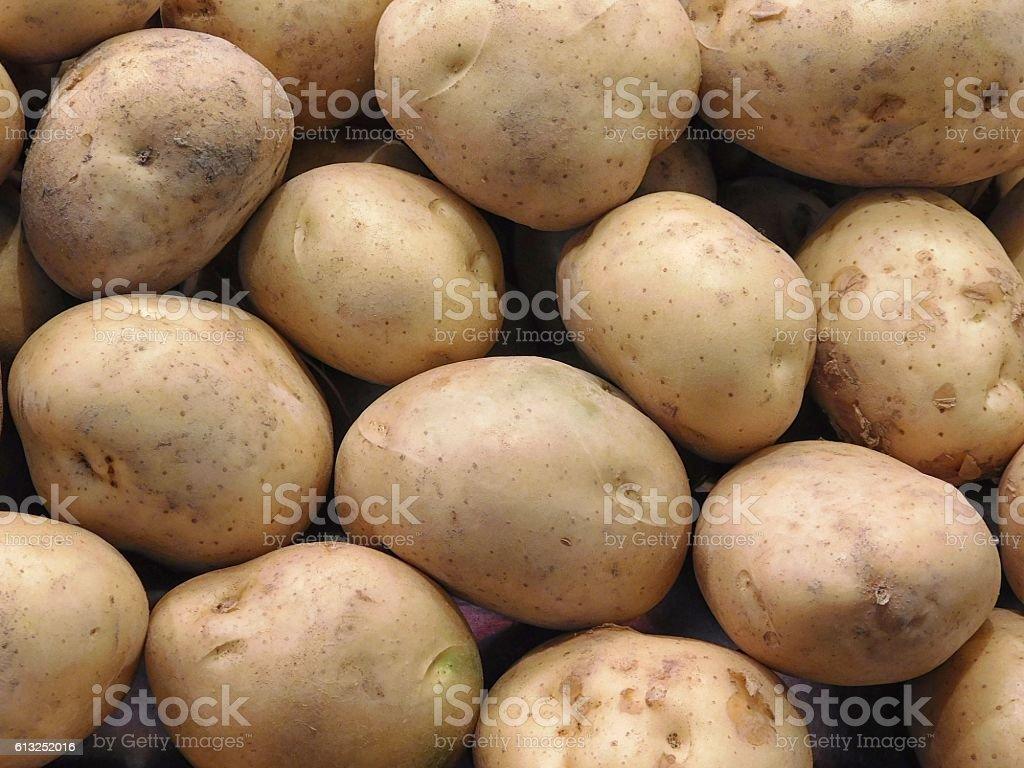 potato textures stock photo