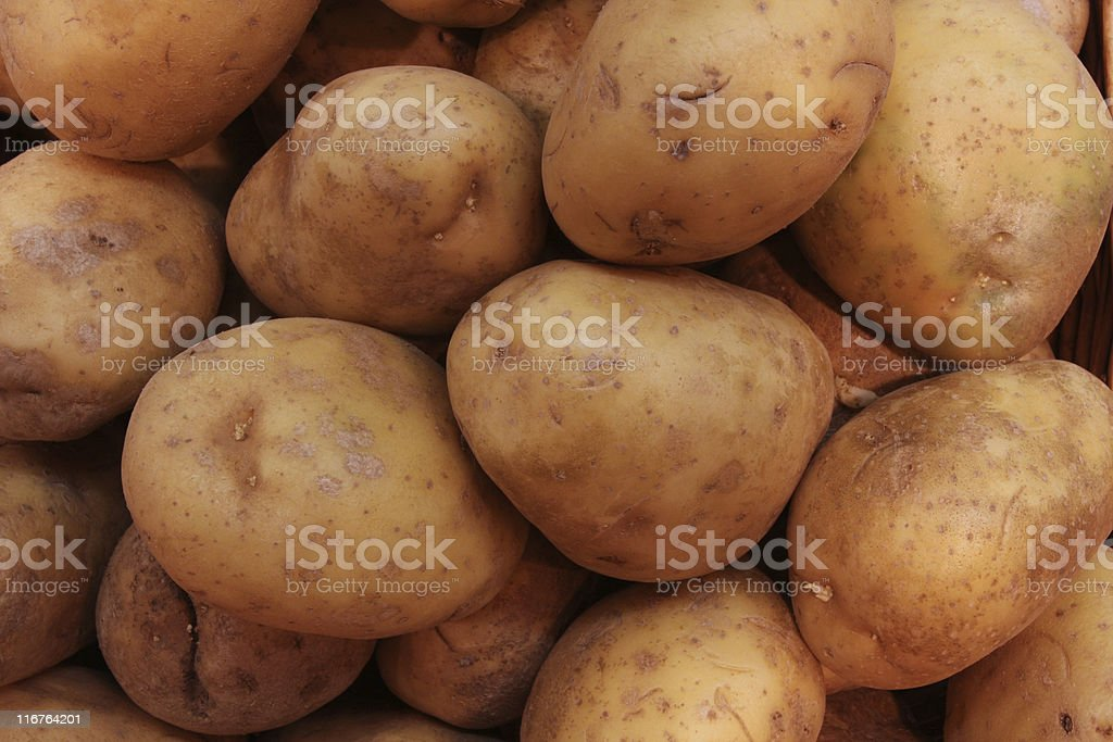 potatoe background royalty-free stock photo