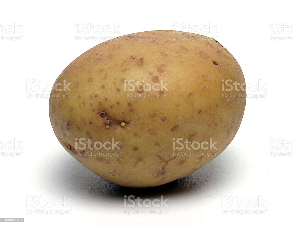 Potatoe royalty-free stock photo
