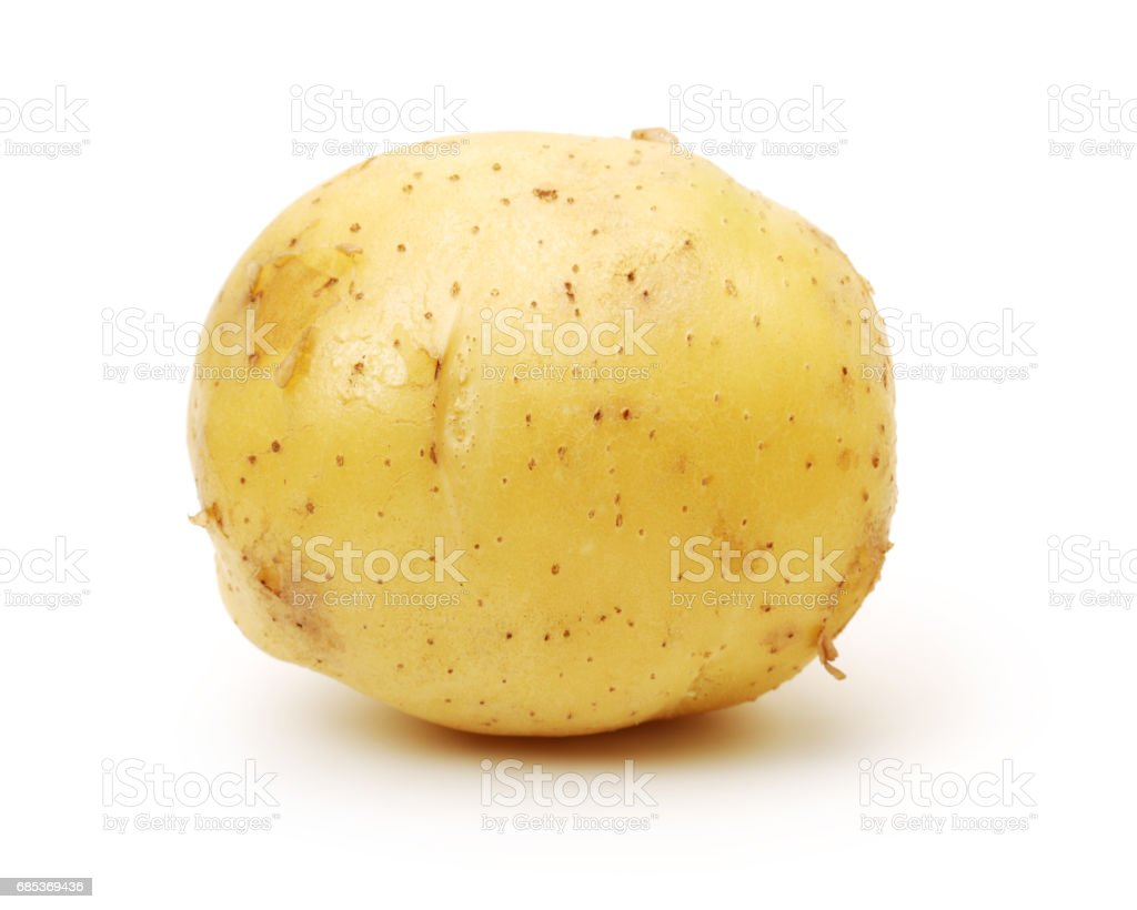 Potatoes  isolated on white background foto de stock royalty-free