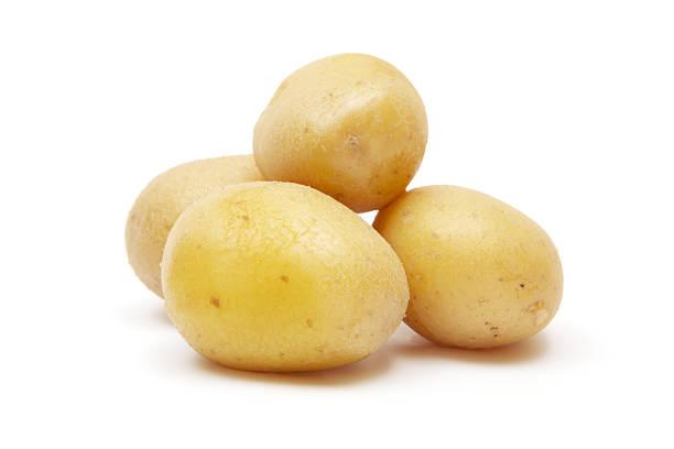 kartoffeln - salzkartoffel stock-fotos und bilder