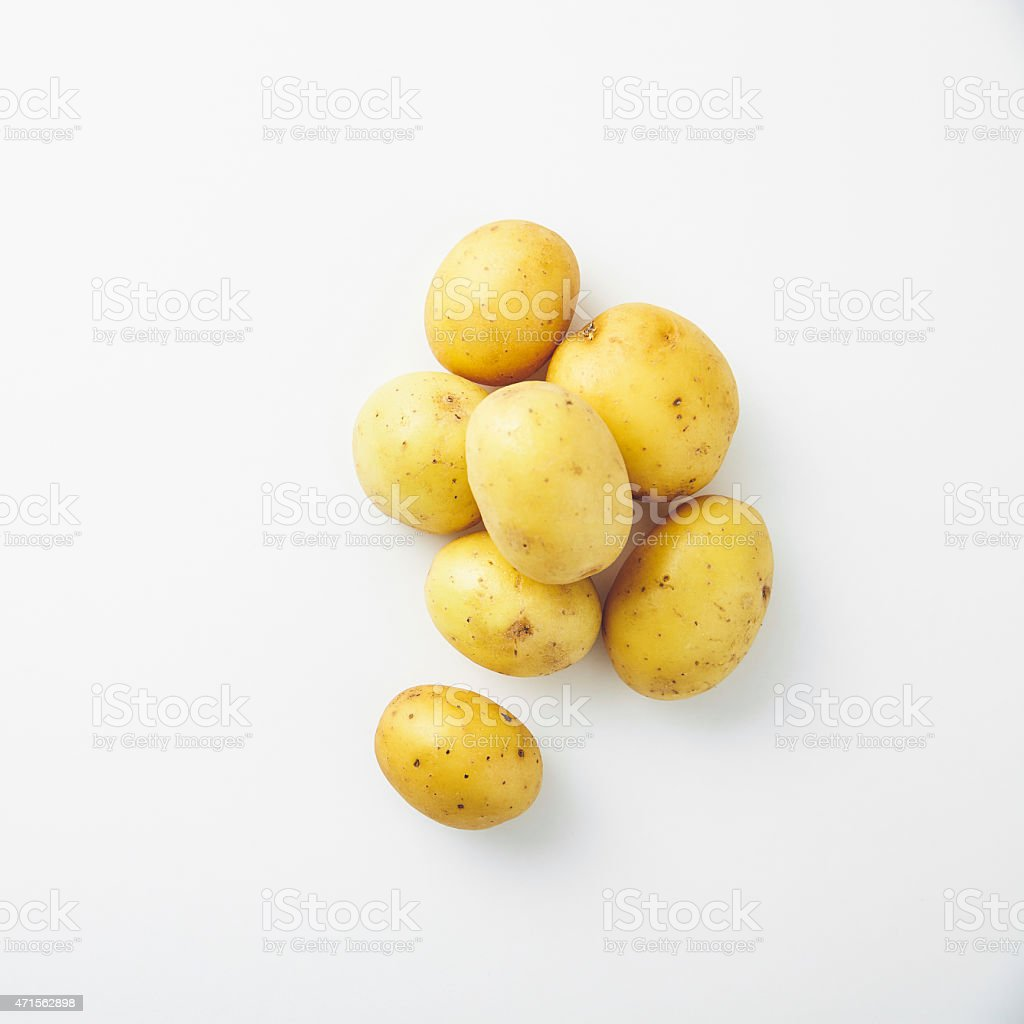 Potatoes stock photo