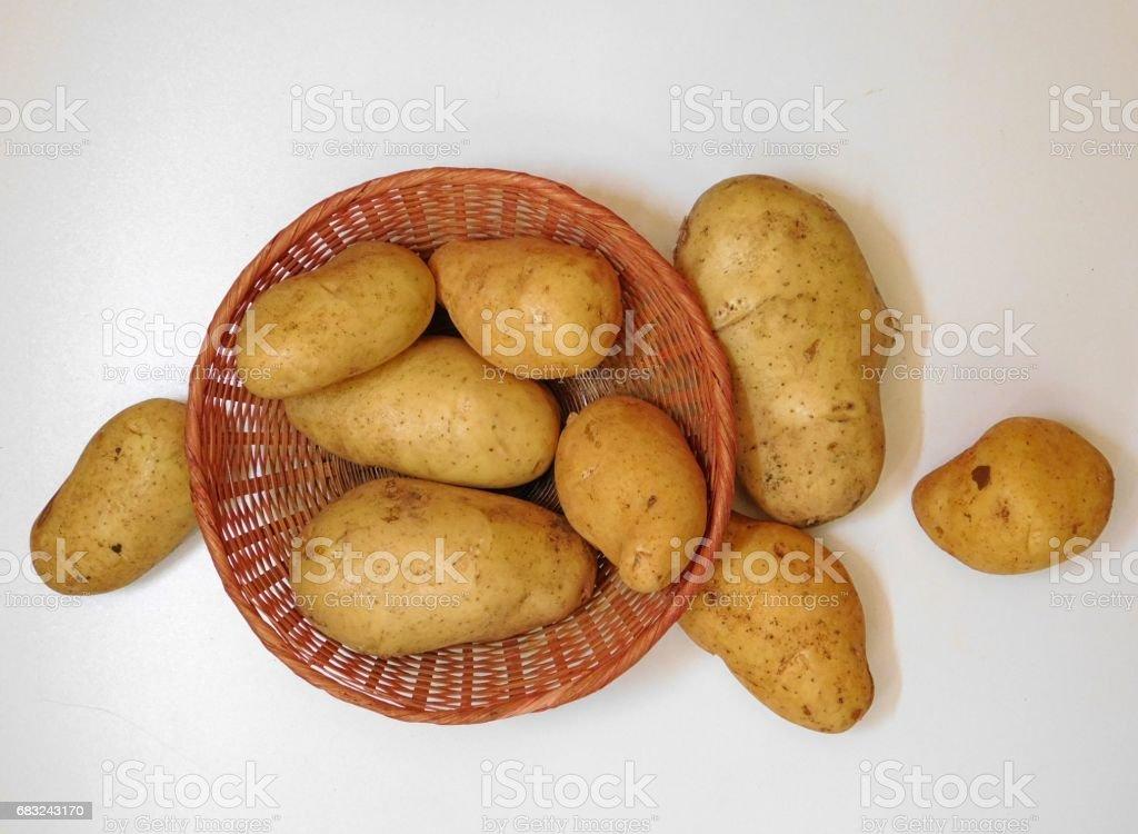 Potatoes royalty-free 스톡 사진