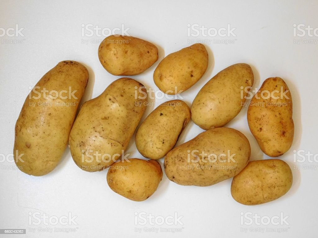 Potatoes 免版稅 stock photo