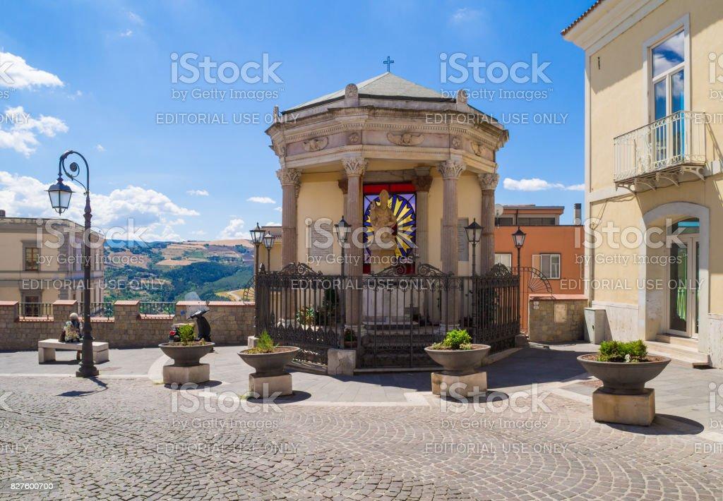 Potenza (Basilicata, Italy) stock photo