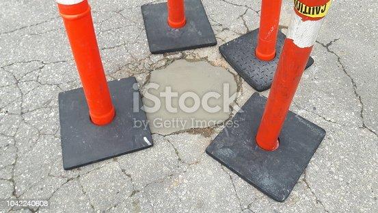Pothole repair abstract