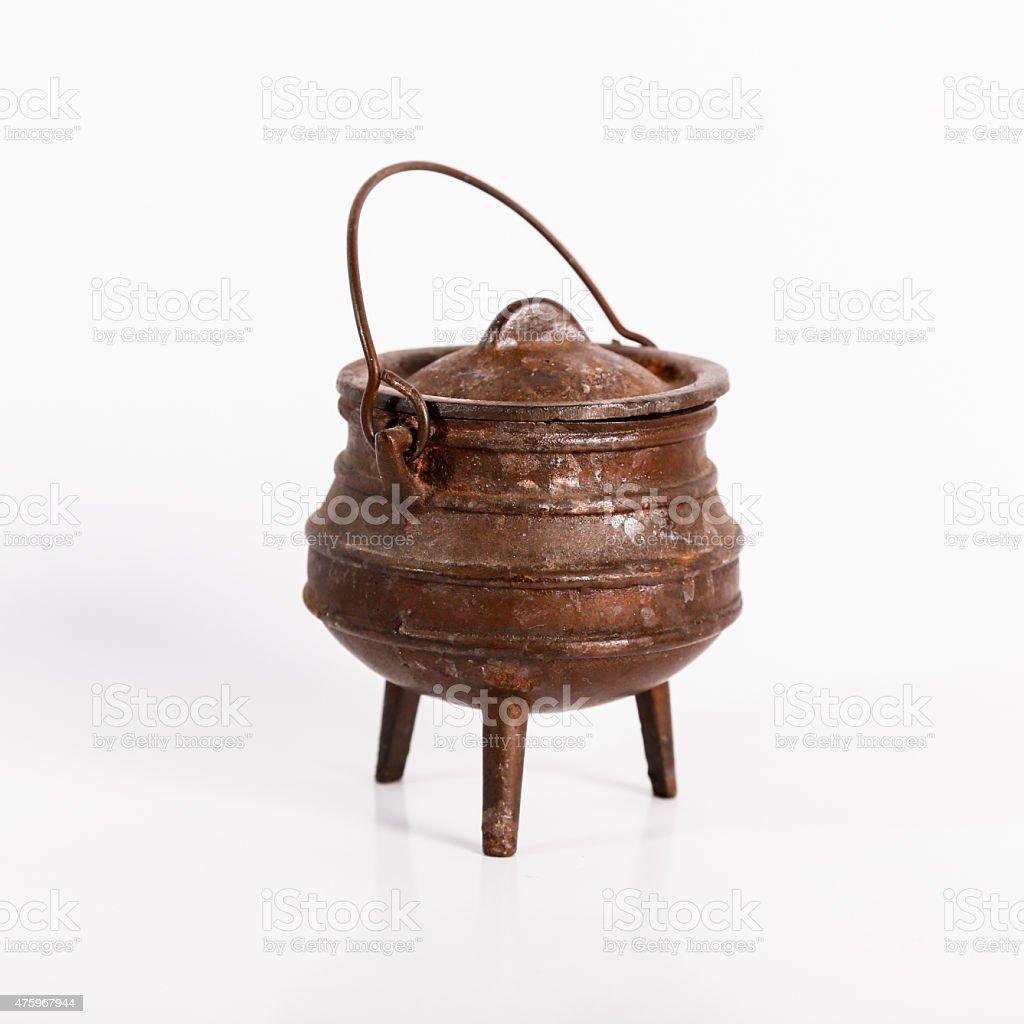 Potjie - Iron Pot stock photo