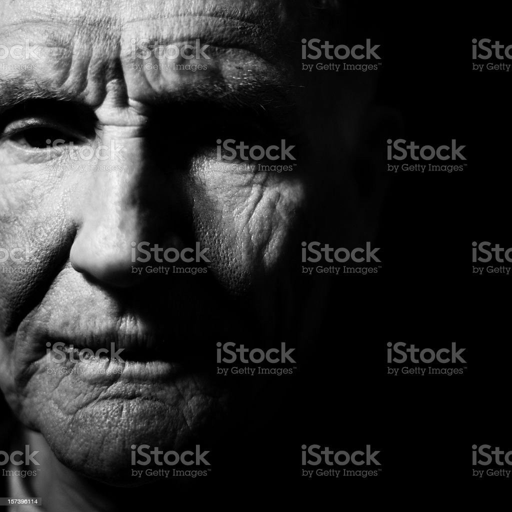 Potrait of a Man royalty-free stock photo
