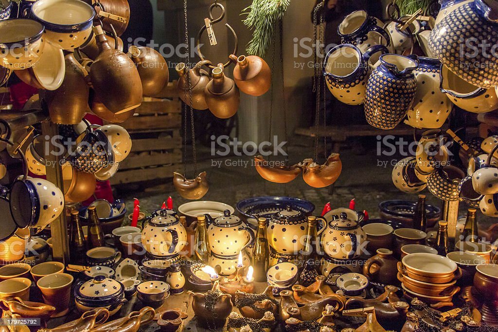 Pots and Jugs stock photo