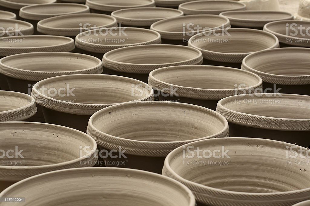 Pots royalty-free stock photo
