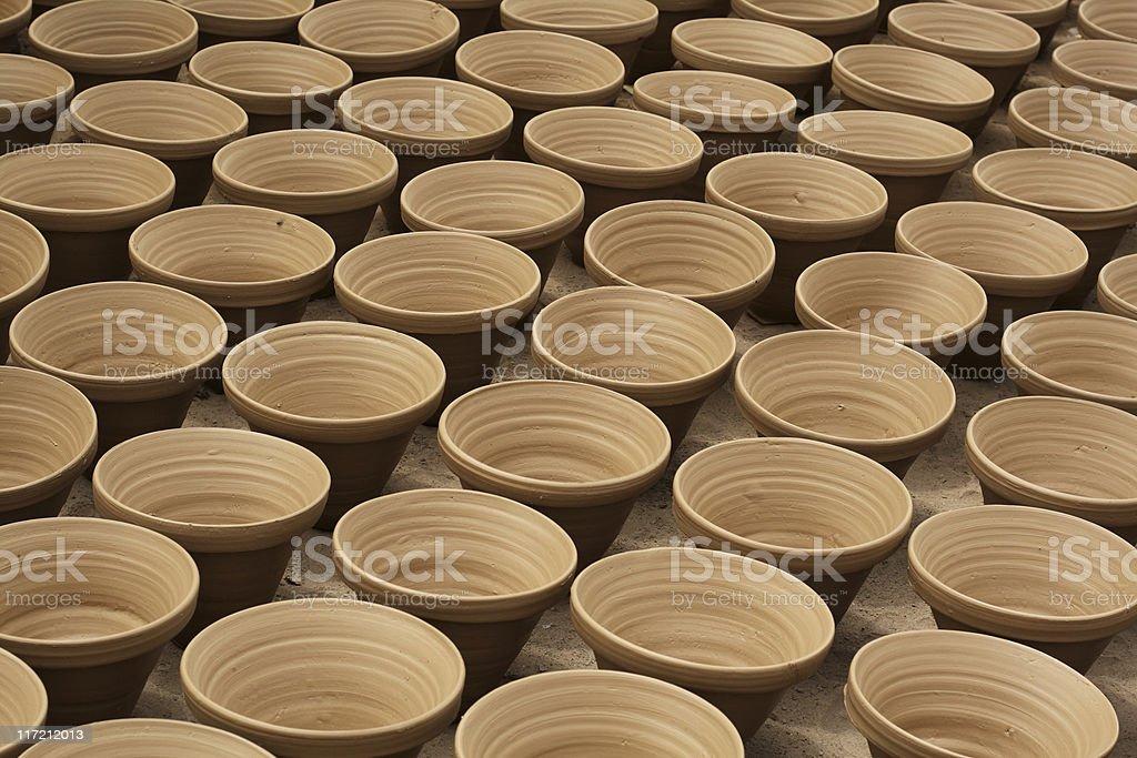 Pots royalty-free stock photo