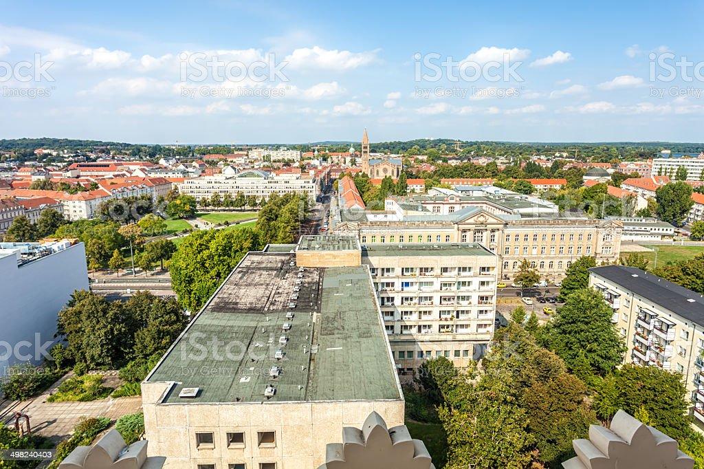 Potsdam Skyline stock photo