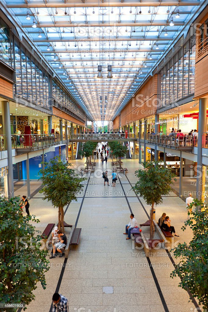 Potsdamer Platz Arkaden Shopping Mall royalty-free stock photo