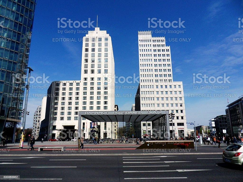 Potsdamer Platz - Beisheim Center stock photo