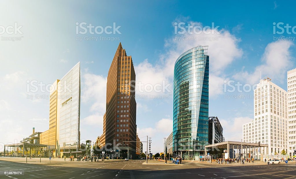Potsdamer Platz, Berlin stock photo