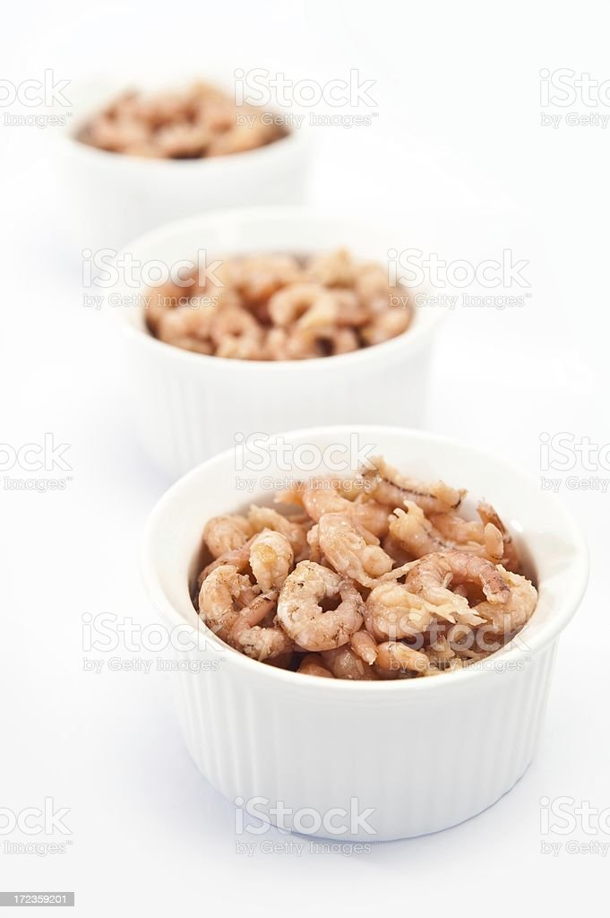 Potted Shrimp royalty-free stock photo