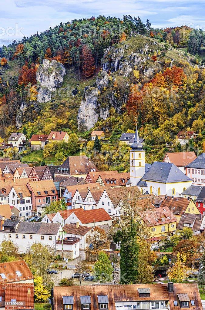 Pottenstein -Franconian Schweiz (Deutschland) – Foto