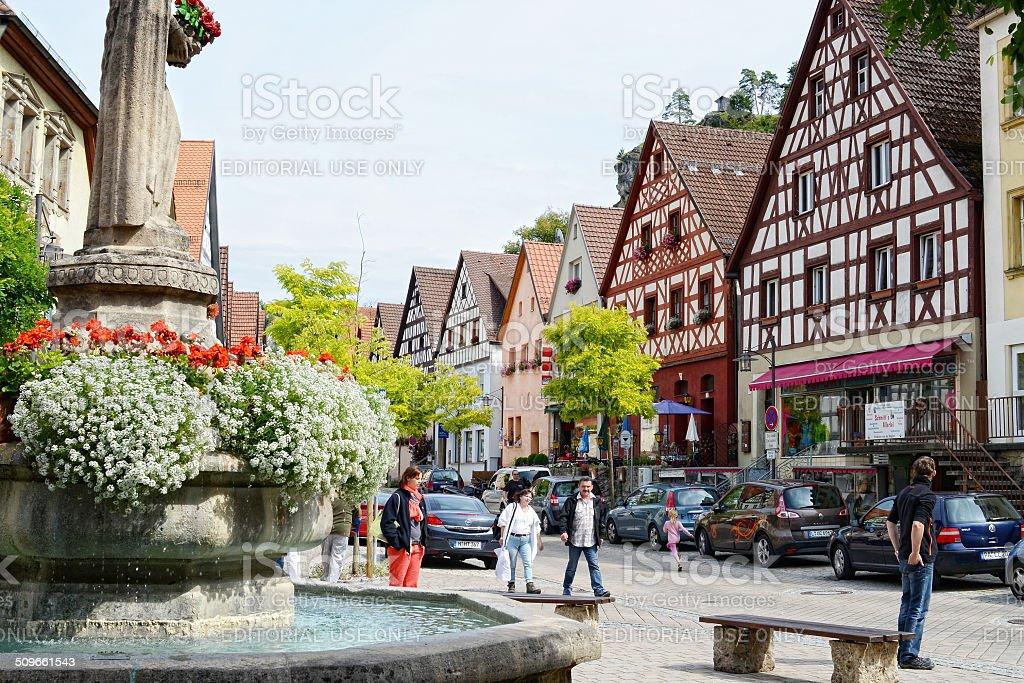 Pottenstein der Stadt – Foto