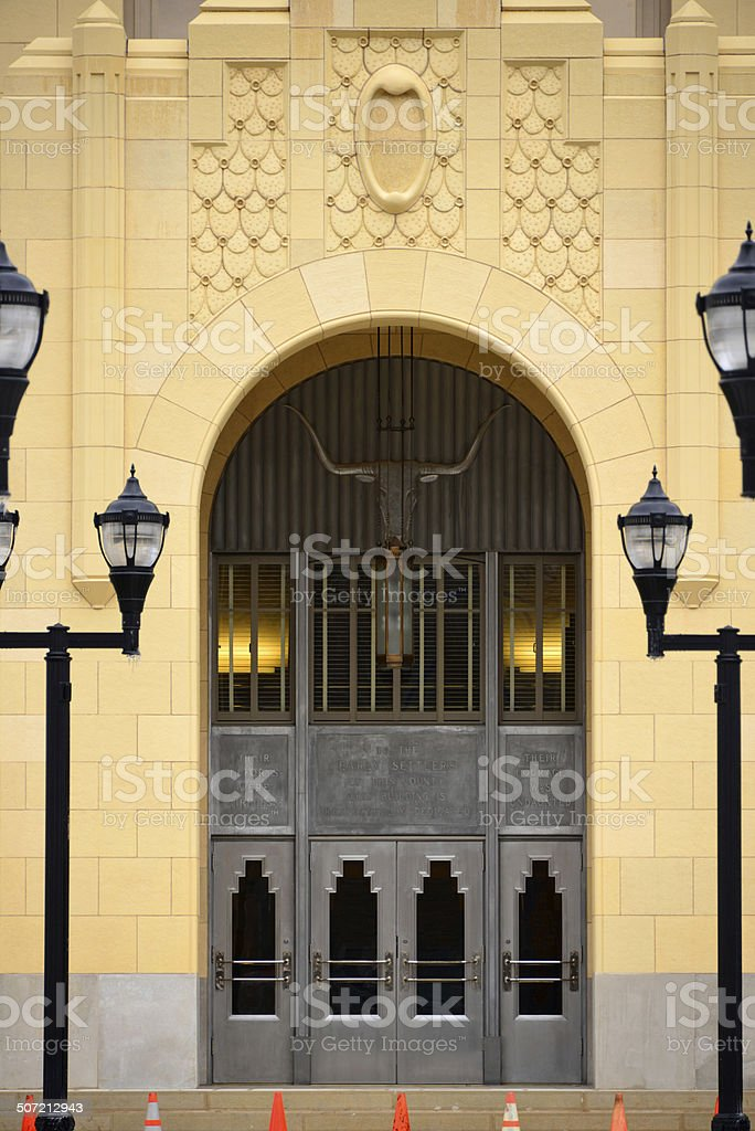 Potter County Courthouse, Texas stock photo
