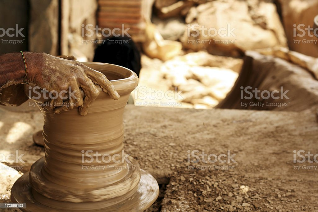 Potter royalty-free stock photo