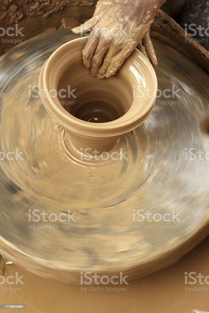 Potter royalty-free stock photo
