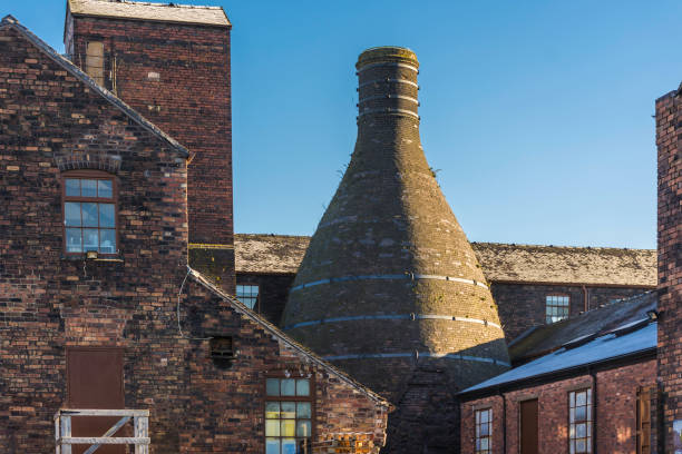 Potteries in Stoke on Trent,Uk stock photo