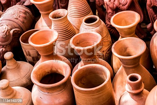 Clicked at a potters shop near my home in Pune, India. This photo was a random click as i was passing by and noted these pots, i had to request the shopkeeper to let me click them.