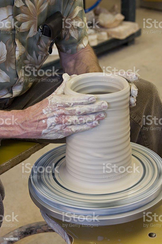 Pottery 5 royalty-free stock photo