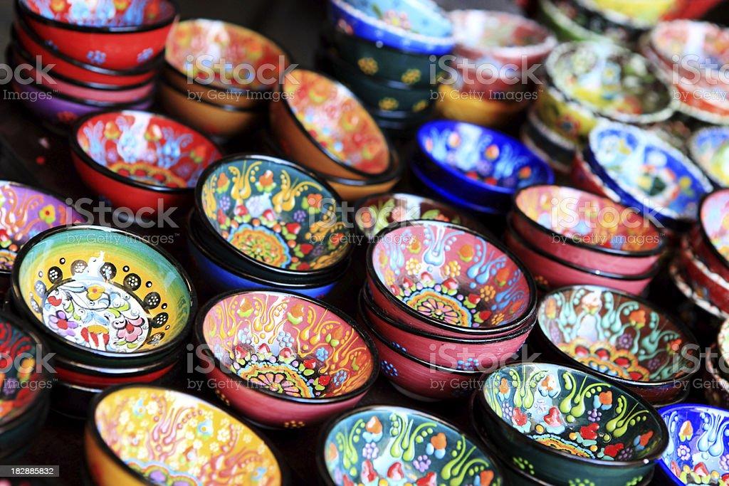 pottery art royalty-free stock photo
