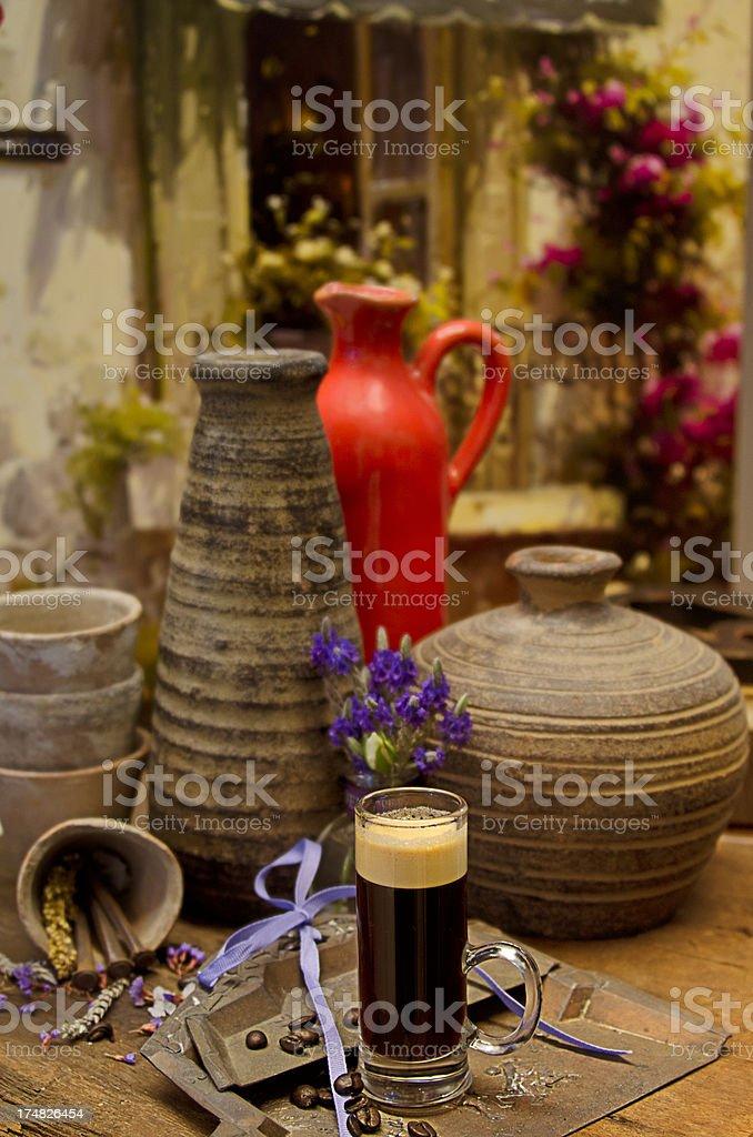 Pottery Class royalty-free stock photo