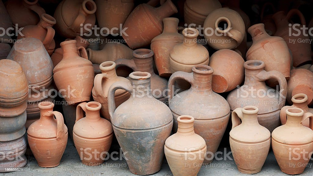Pottery Crafts royalty-free stock photo