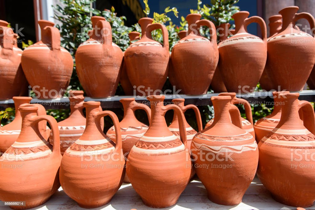 Pottery Crafts stock photo