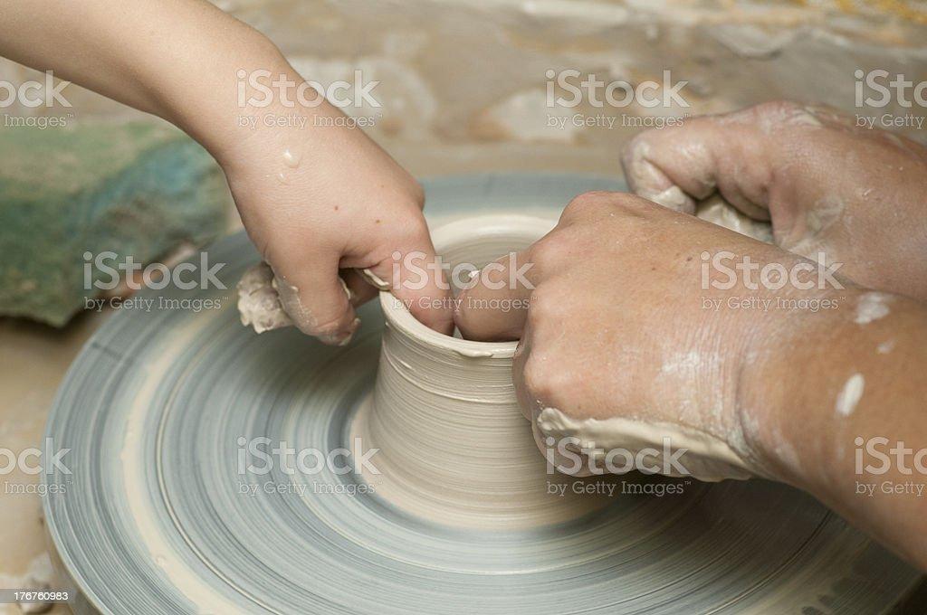 pottery royalty-free stock photo