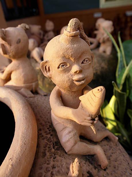 pottery - pilze bestimmen stock-fotos und bilder