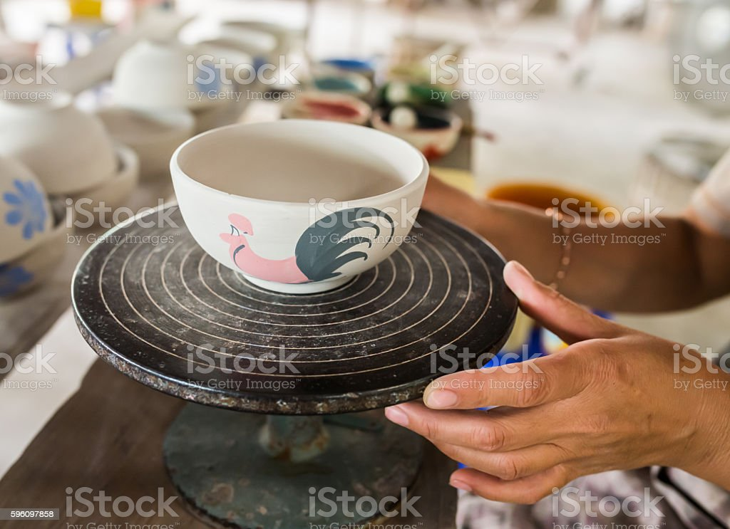 Pottery royalty-free stock photo