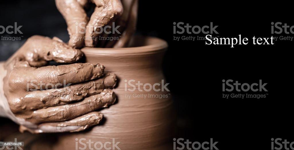Pottery. - Zbiór zdjęć royalty-free (Artysta)