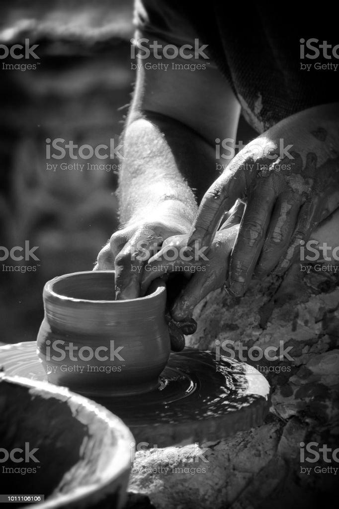 Escuela de cerámica - foto de stock