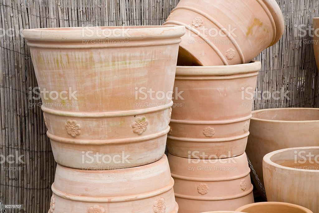 Pottery Series stock photo