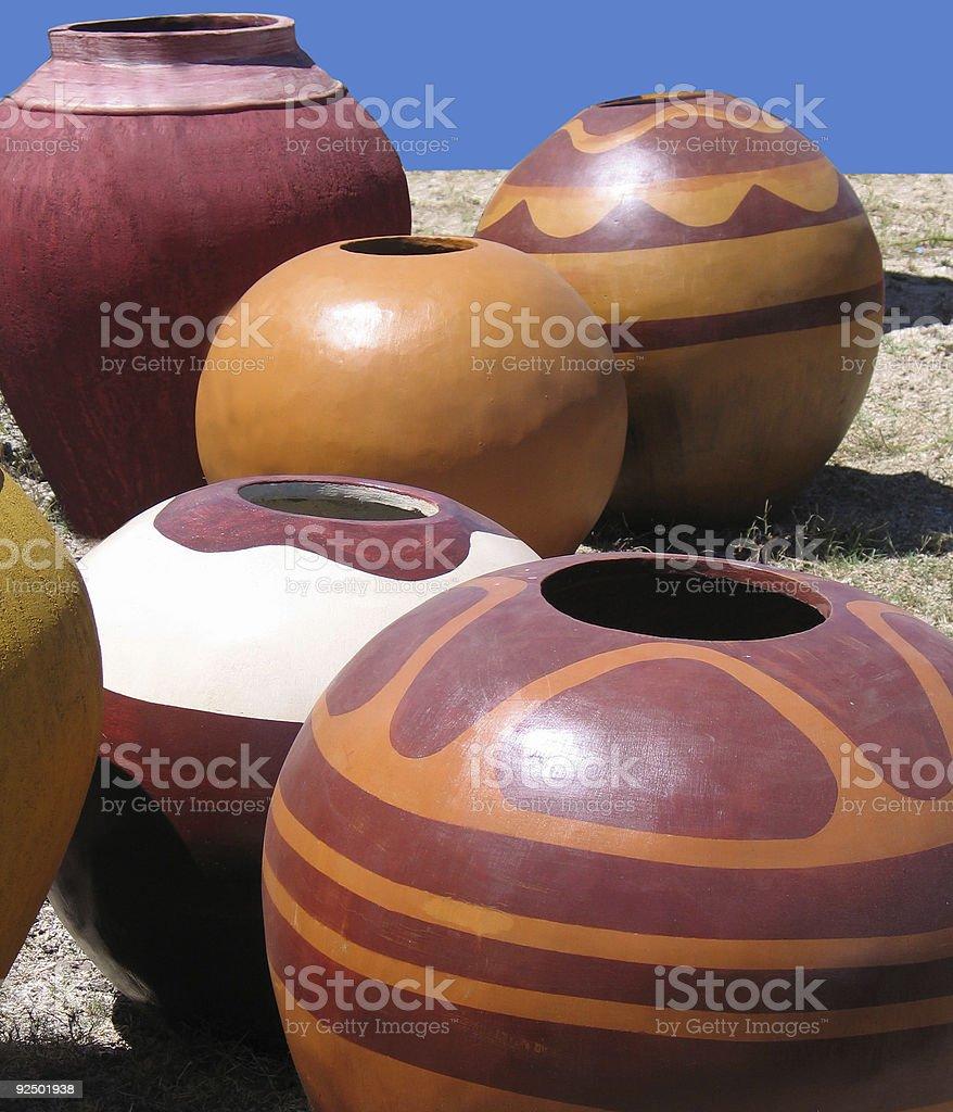 Keramik set 5 Lizenzfreies stock-foto