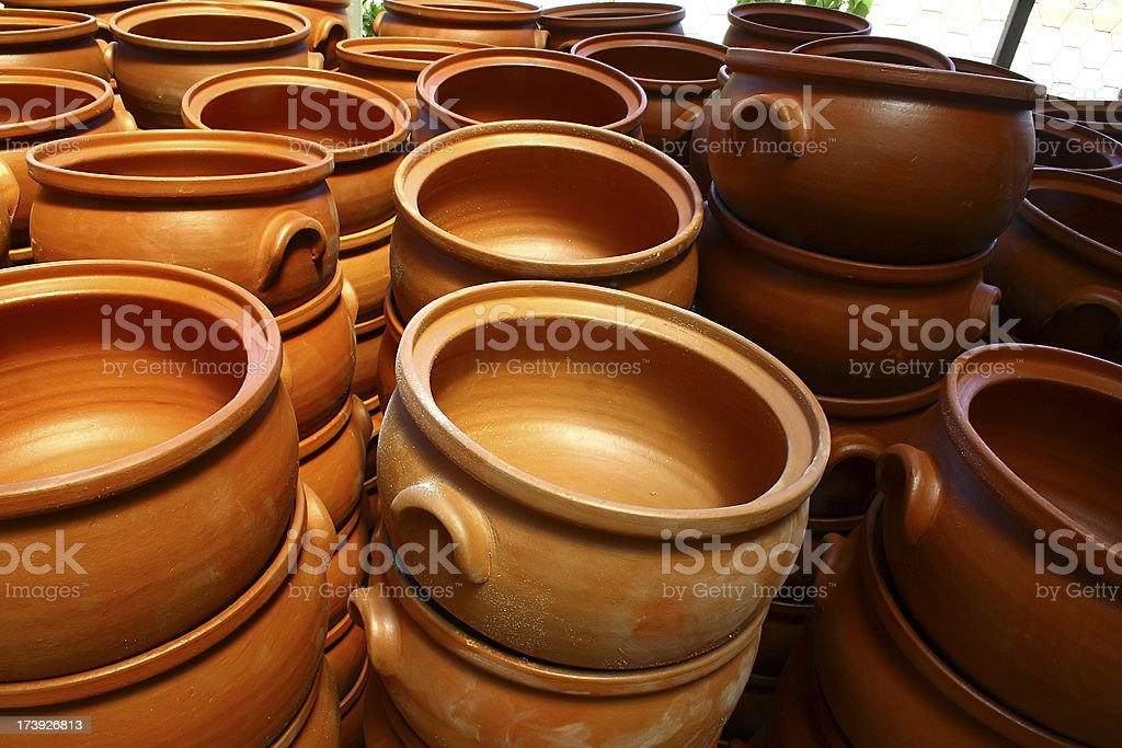 Pottery workshop royalty-free stock photo
