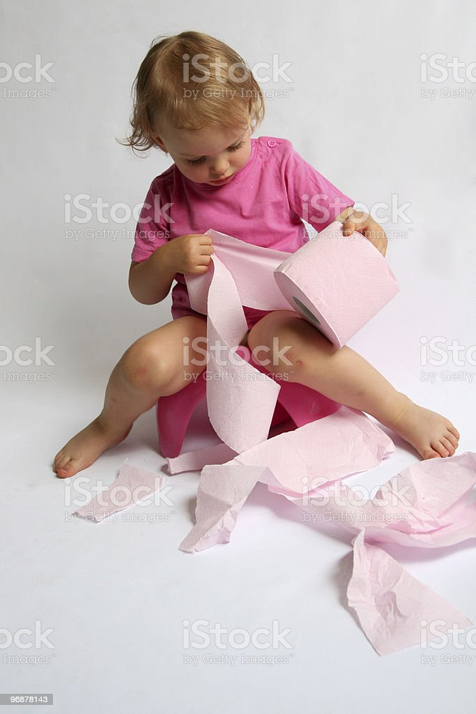 Potty stock photo
