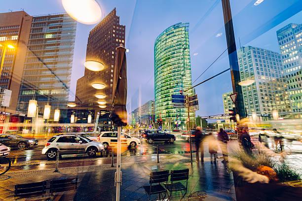 potzdamer platz berlin - berlin city bildbanksfoton och bilder